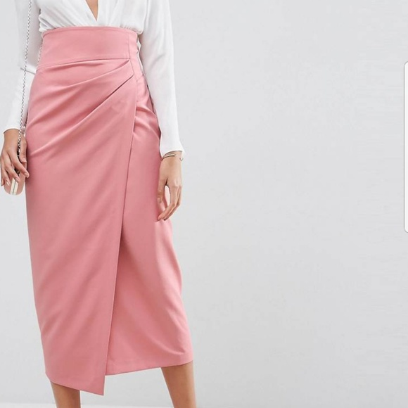 386a747d9355 ASOS Skirts | Tailored Midaxi Skirt | Poshmark